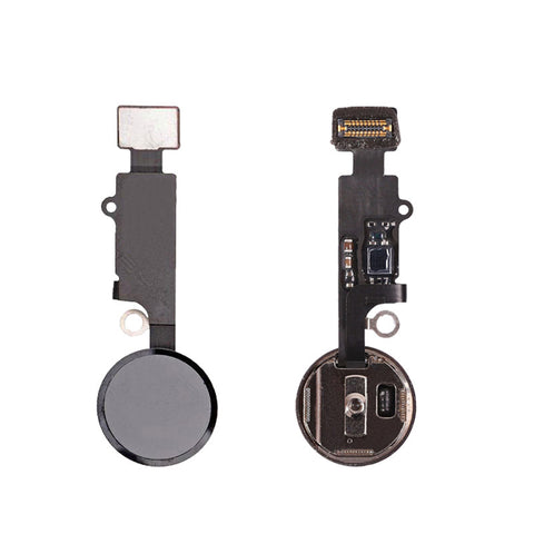 OEM Home Button Assembly with Flex Cable for iPhone 7 7Plus -Black