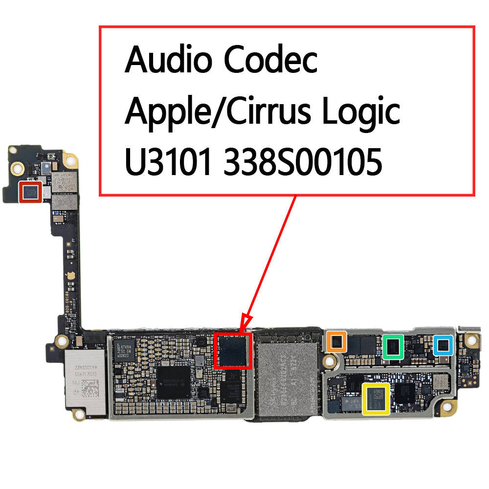 OEM Audio IC U3101 338S00105 for iPhone 7 7Plus