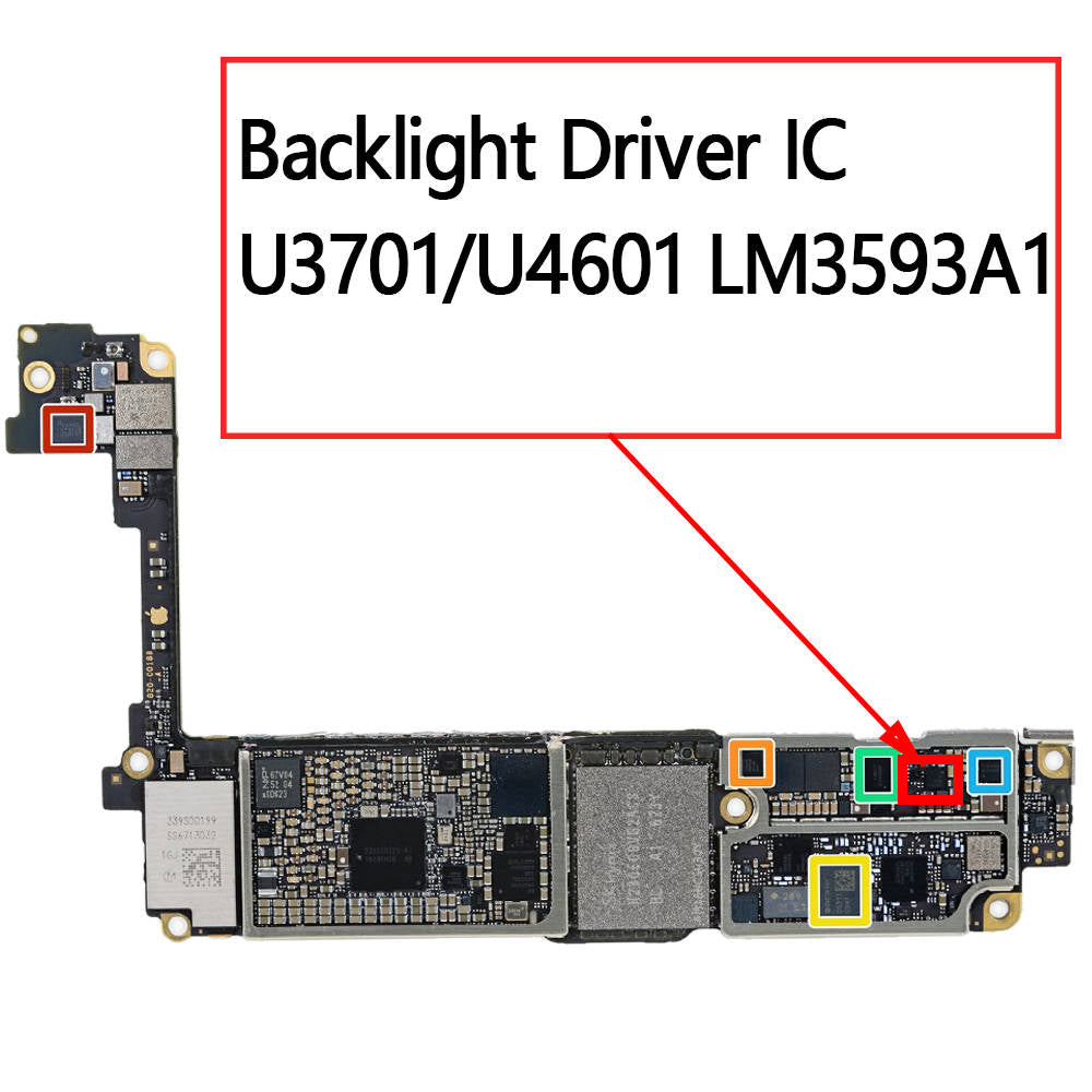 OEM Backlight Driver IC U3701 U4601 LM3593A1 for iPhone 7 7Plus