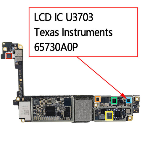 OEM LCD IC U3703 65730A0P for iPhone 7 7Plus