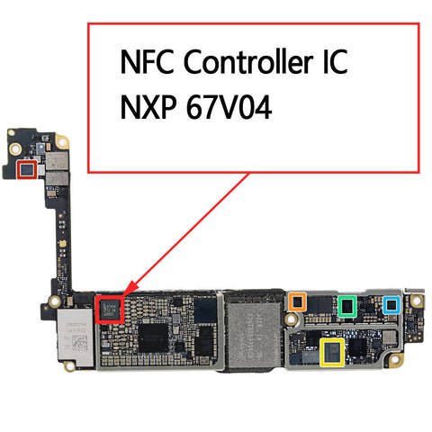 OEM NFC Controller IC 67V04 for iPhone 7 7Plus