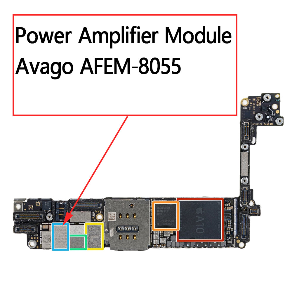 OEM Amplifier IC AFEM-8055 for iPhone 7 7Plus
