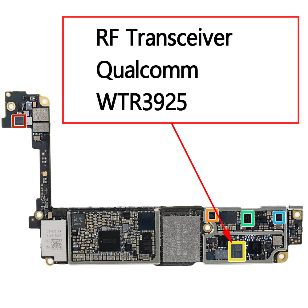 OEM RF Transceiver WTR3925 for iPhone 7 7Plus