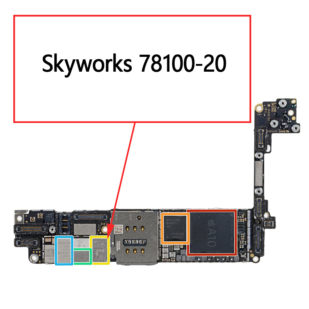 OEM Skyworks 78100-20 for iPhone 7 7Plus