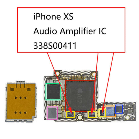 iPhone XS Audio IC 338S00411 | myFixParts.com