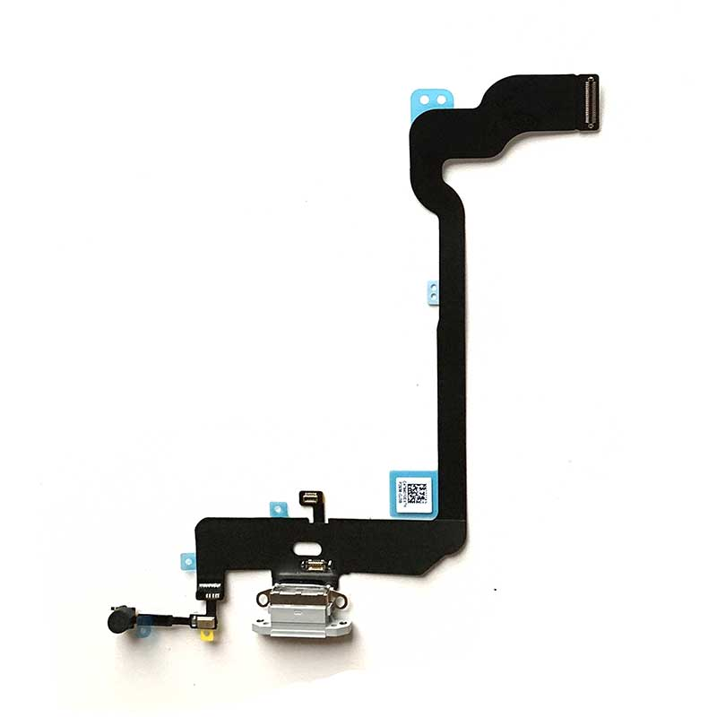 OEM Charging Port Flex Cable for iPhone XS -White