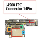iPhone Xs XS Max J4500 FPC Connector 14Pin | myFixParts.com