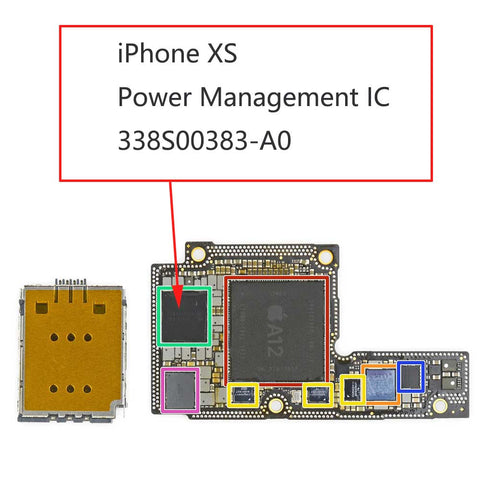 iPhone XS Power Management IC 338S00383 | myFixParts.com