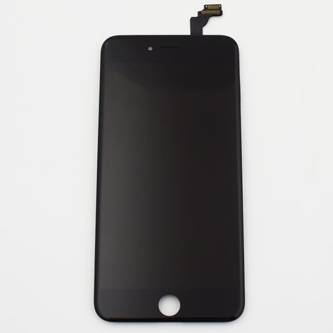 Aftermarket LCD Screen and Digitizer Assembly with Bezel for iPhone 6 Plus -Black