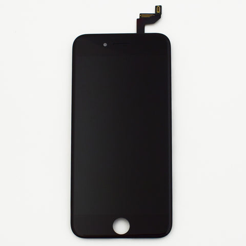 Aftermarket LCD Screen and Digitizer Assembly with Bezel for iPhone 6s -Black