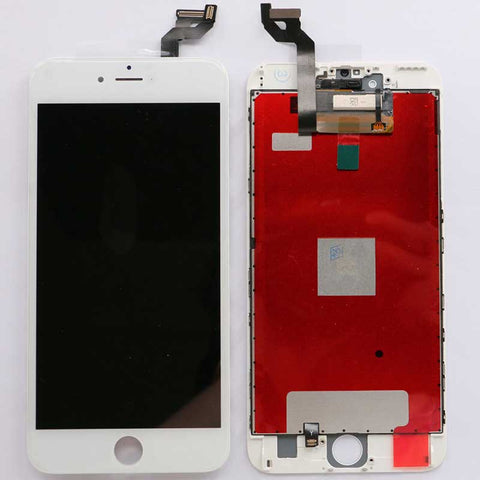 iPhone 6S Plus Screen Assembly with Bezel White | myFixParts.com