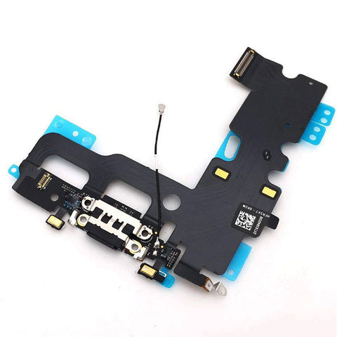 OEM Dock Charging Flex Cable with Tools for iPhone 7 -Black