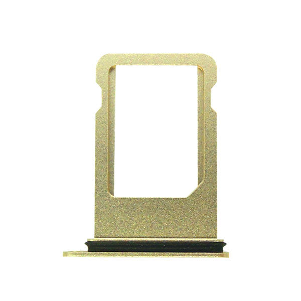 OEM SIM Tray with Rubber Ring for iPhone 7 Plus -Gold