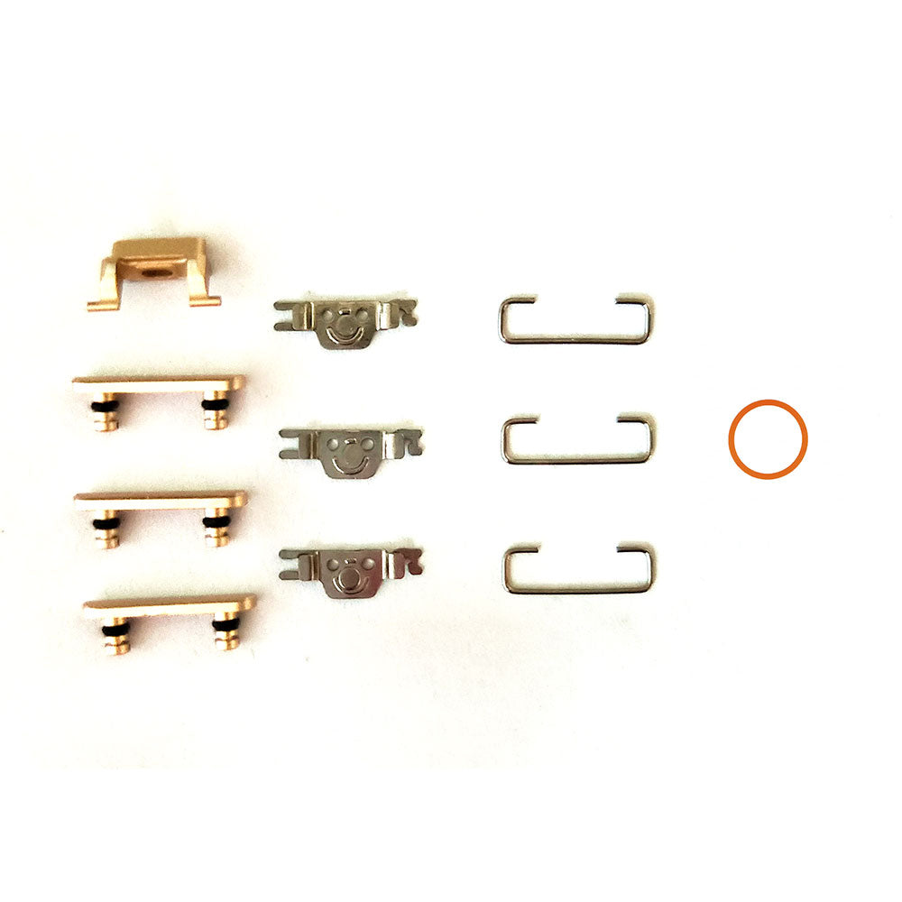 OEM Side Buttons Set (11pcs/set) for iPhone 7 -Gold