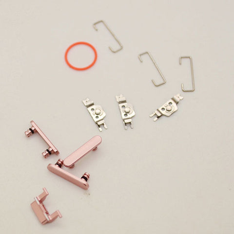 OEM Side Buttons Set (11pcs/set) for iPhone 7 -Rose Gold