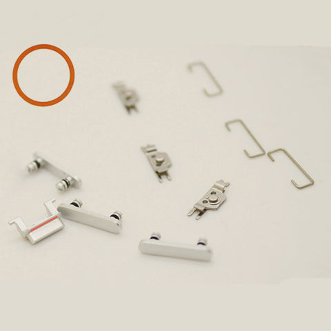 OEM Side Buttons Set (11pcs/set) for iPhone 7 -Silver
