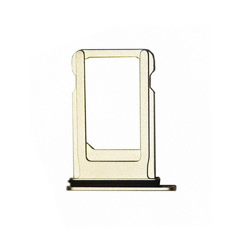 OEM SIM Tray with Rubber Ring for iPhone 7 -Gold