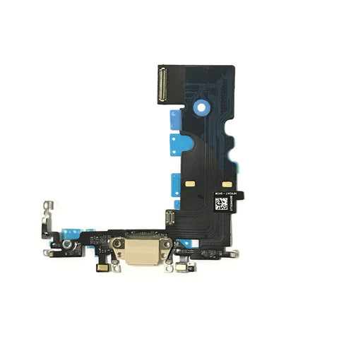 OEM Dock Charging Flex Cable with Tools for iPhone 8 -Gold