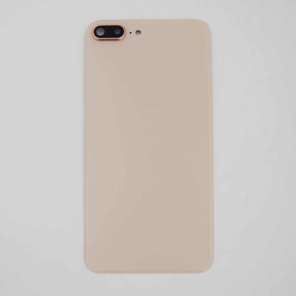 OEM Back Glass Cover with Camera Lens for iPhone 8 Plus -Gold