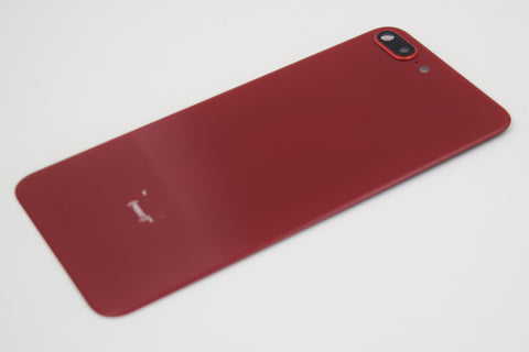OEM Back Glass Cover with Camera Lens for iPhone 8 Plus -Red