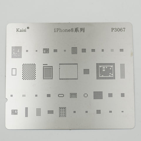P3067 BGA Reball Stencil for iPhone 8