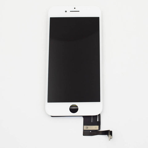 Aftermarket LCD Screen and Digitizer Assembly with Bezel for iPhone 8 -White