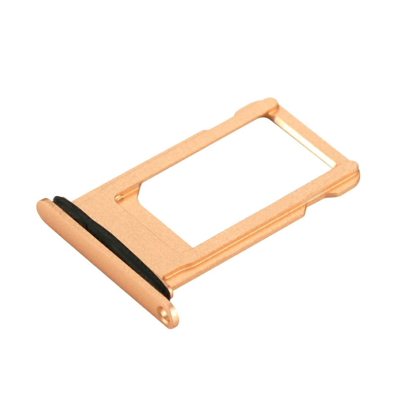 OEM SIM Tray with Rubber Ring for iPhone 8 -Gold