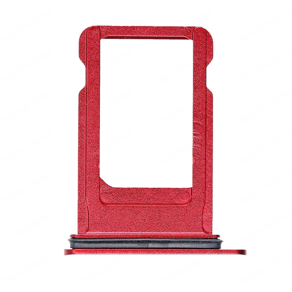 OEM SIM Tray with Rubber Ring for iPhone 8 -Red