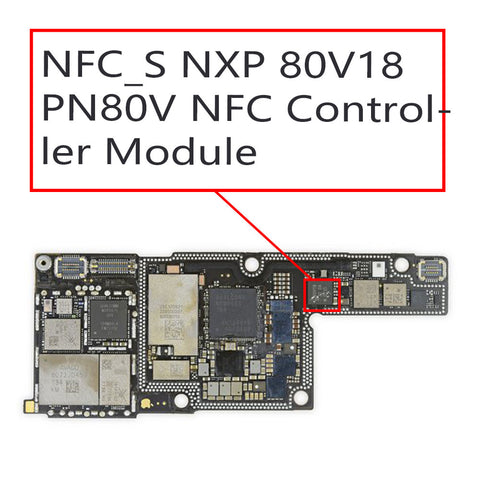 OEM NFC_S NXP 80V18 NFC Controller Module for iPhone X