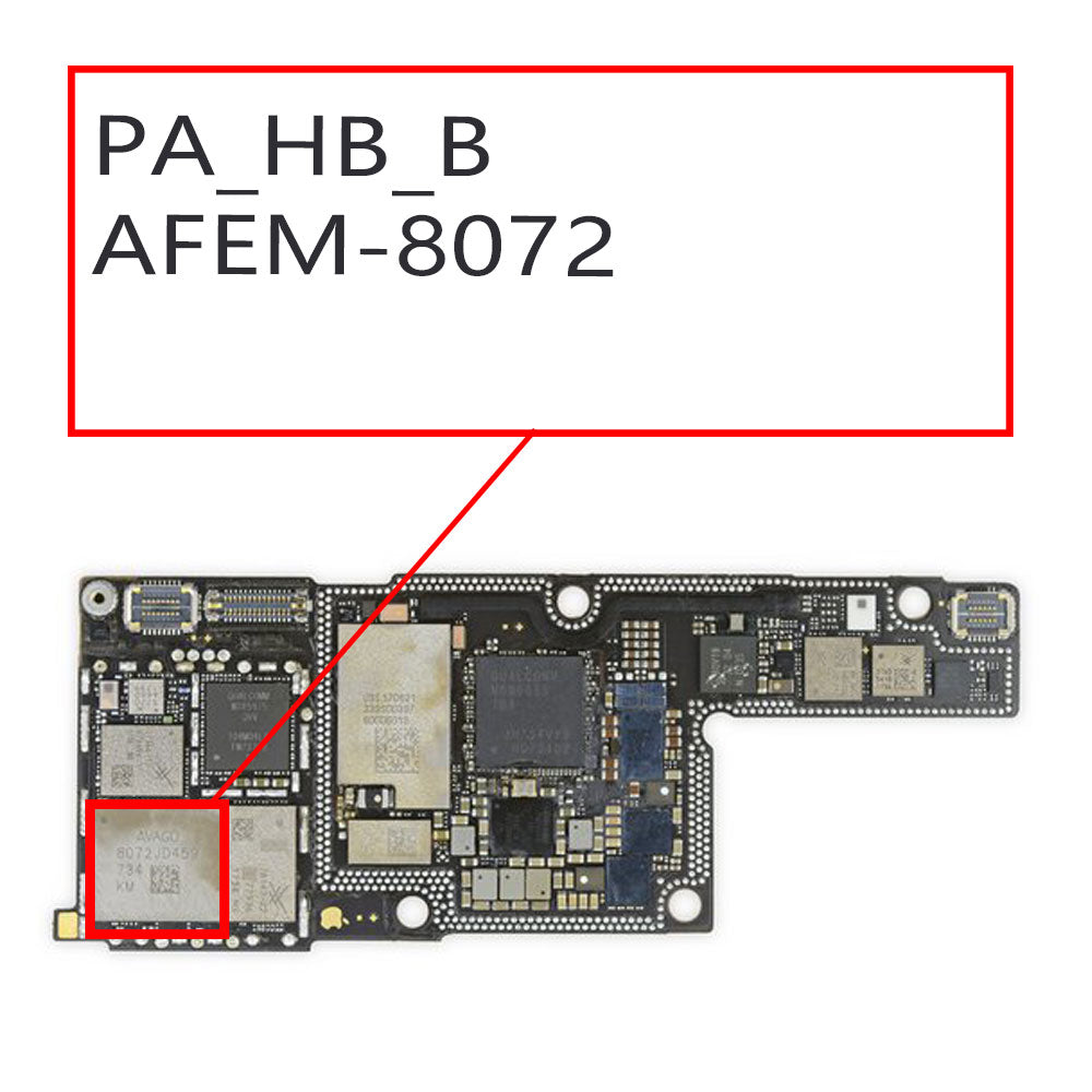 OEM PA_HB_B AFEM 8072 Amplifier IC for iPhone X