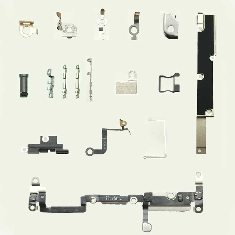 OEM A Kit of Small Parts for iPhone X -17pcs