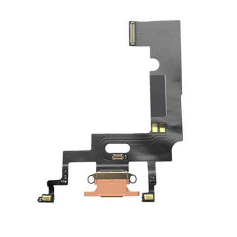 iPhone XR Charging Port Flex Cable Orange | myFixParts.com