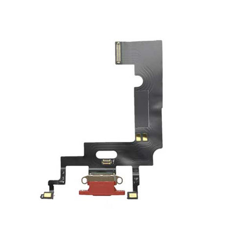 iPhone XR Charging Port Flex Cable Red | myFixParts.com