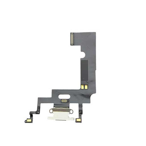 iPhone XR Charging Port Flex Cable White | myFixParts.com