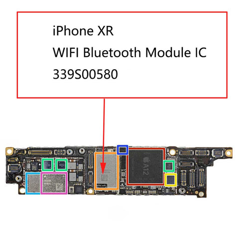 iPhone XR WIFI Bluetooth IC 339S00580 | myFixParts.com