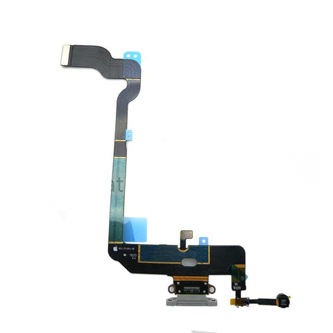 OEM Dock Charging Flex Cable with Tools for iPhone XS -Silver