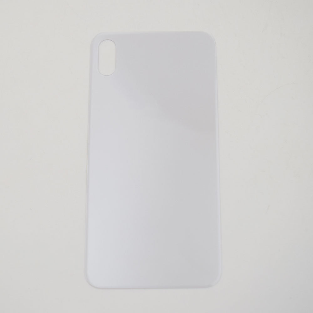 OEM Back Glass Cover for iPhone XS Max -Silver