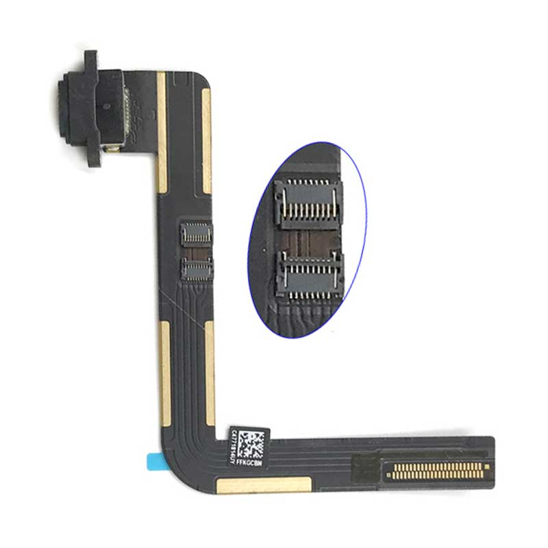 iPad 5 / iPad Air Charging Port Flex Cable Black | myFixParts.com