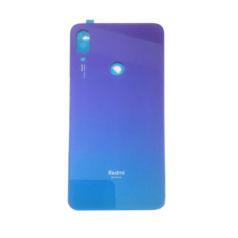 Xiaomi Redmi Note7 Back Cover Blue | myFixParts.com