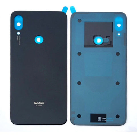 Xiaomi Redmi Note7 Back Cover Black | myFixParts.com