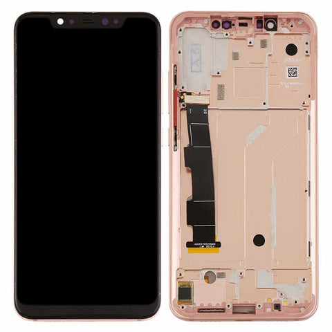 Xiaomi Mi 8 Screen Assembly with Frame Gold | myFixParts.com