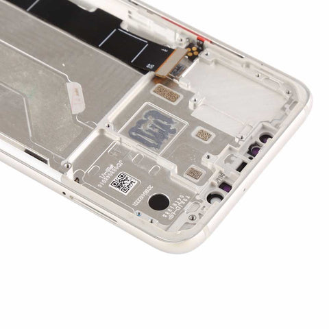 Xiaomi Mi 8 Screen Assembly with Frame Silver | myFixParts.com