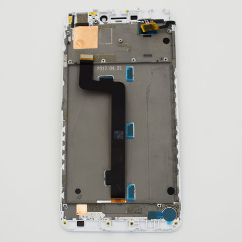 Xiaomi Mi Max2 LCD Screen Assembly with Frame White | myFixParts.com
