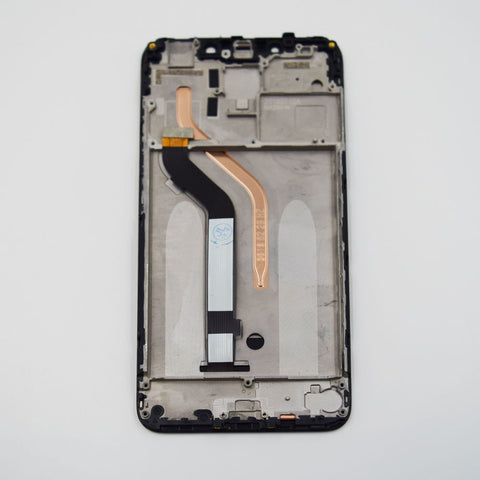 Xiaomi Pocophone F1 Screen Assembly with Frame Black | myFixParts.com