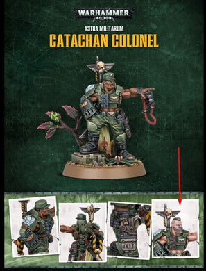 Catachan Colonel (limited stock)
