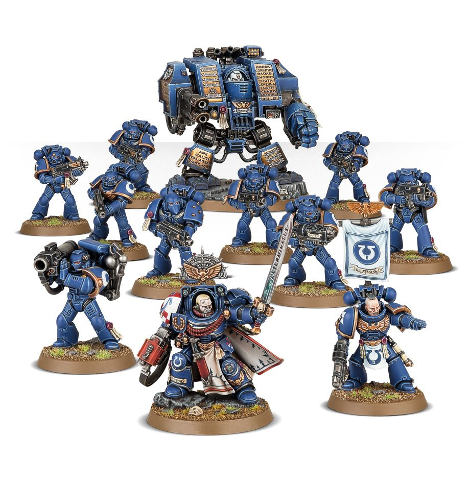 Start Collecting Space Marines