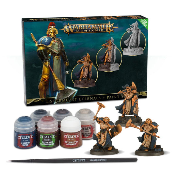 Stormcast Eternals + Paint Set