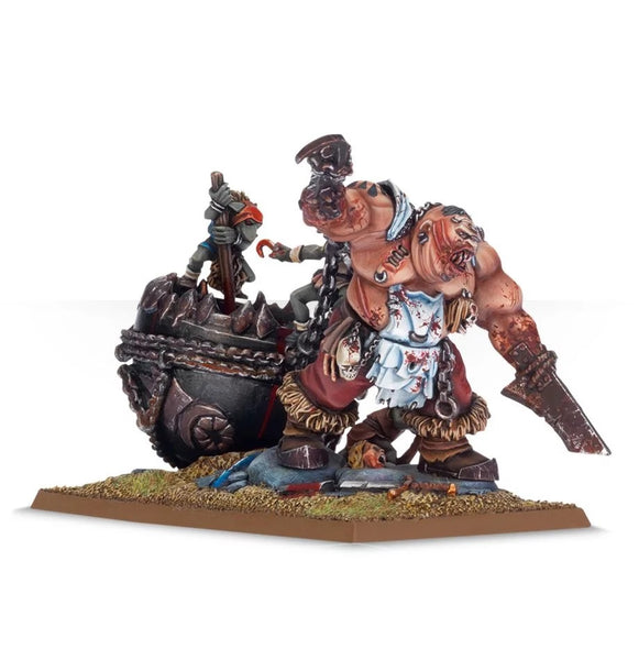 Butcher with Cauldron