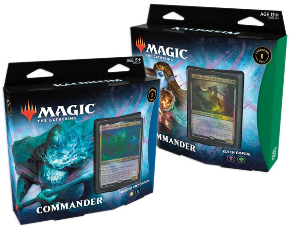 Kaldheim Commander Decks