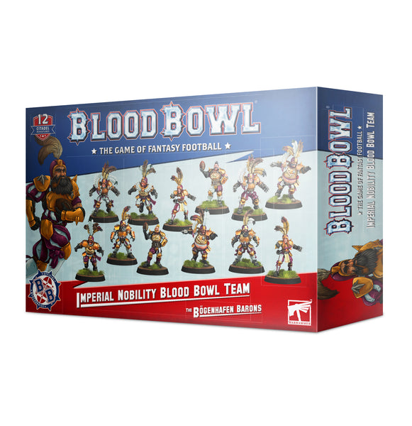Imperial Nobility Blood Bowl Team: The Bögenhafen Barons